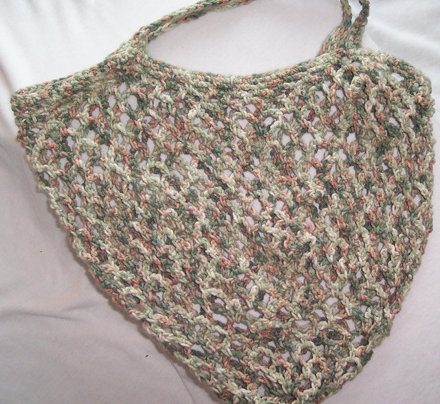 Grocery Bag Crochet : CROCHET GROCERY BAGS Crochet For Beginners