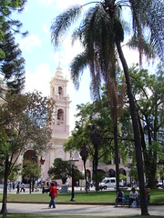 the cathedral in Salta, Argentina