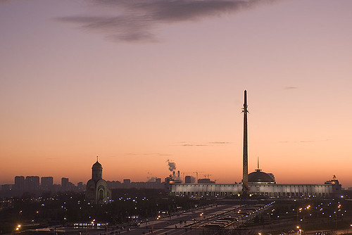 Poklonnaya Hill (view from my window)