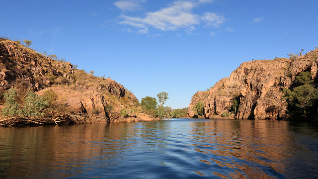Entering Katherine Gorge