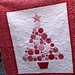 Christmas Tree Quilt detail