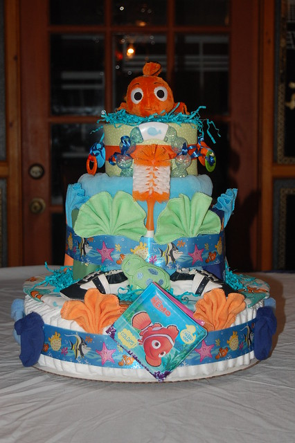 Finding Nemo Diaper Cake Flickr Photo Sharing