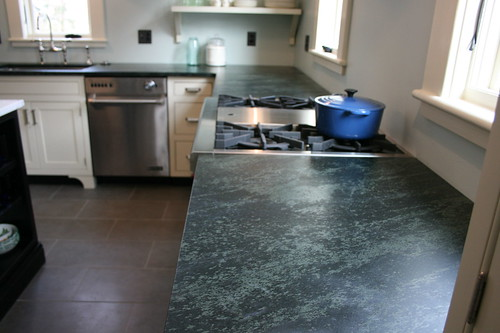 Granite That Looks Like Soapstone : Ok here is the green soapstone granite i am looking at