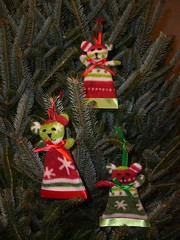 Blanket Bear Ornaments