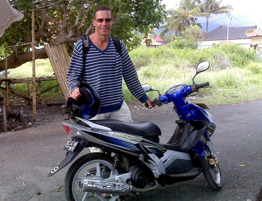 Bali Motorbike rider