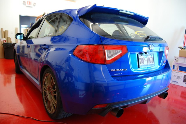 '09 WRX STi Tail Overlays