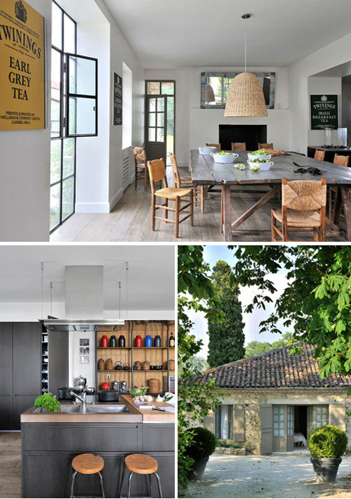 Holiday home in the south west of france the style files - Rideaux maison de campagne ...