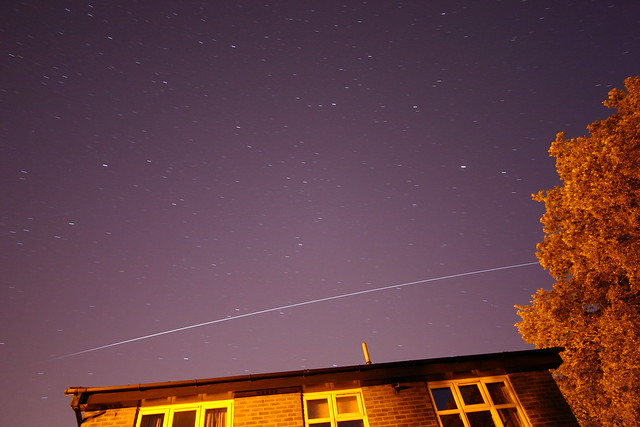 International Space Station over Hampshire