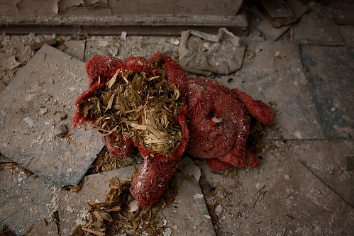 Broken doll in Belarus photo by Pedro Moura Pinheiro