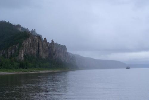 river landscape geotagged published russia lena siberia fluss 2008 landschaft sacha yakutia sibirien sakha yakoutie jakutia jakutien sachajakutien lenapillars lenafelsen lenasäulen renateeichert resilu