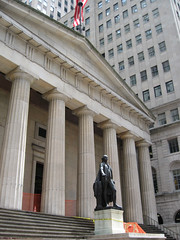 Federal Hall by Steve and Sara, on Flickr
