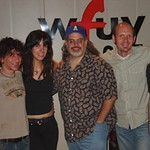 Sarah Borges at WFUV with Darren DeVivo