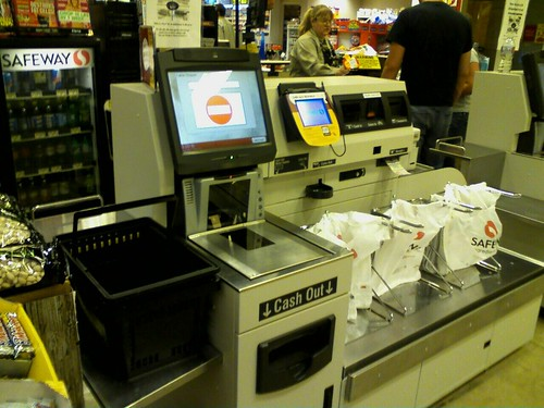 Safeway Self Checkout - Fail.