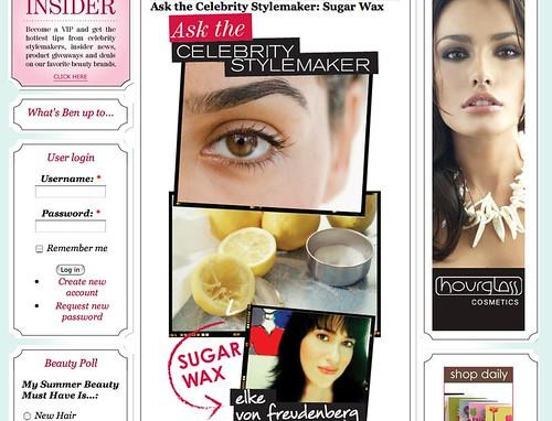 Celebrity Stylemaker: Seen in WeLoveBeauty.com
