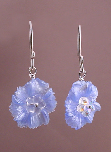 lucite.blue.flowers.hanging
