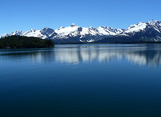 the amazing scenery of Prince William Sound, Alaska.