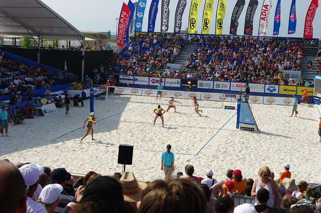 marseille beach volley women 39 s final 2008 brazil germany 2 flickr photo sharing. Black Bedroom Furniture Sets. Home Design Ideas