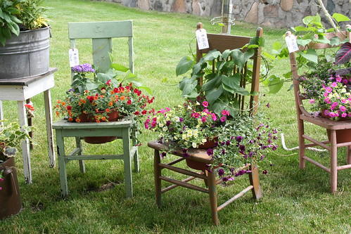 Rochester Garden Tour chairs