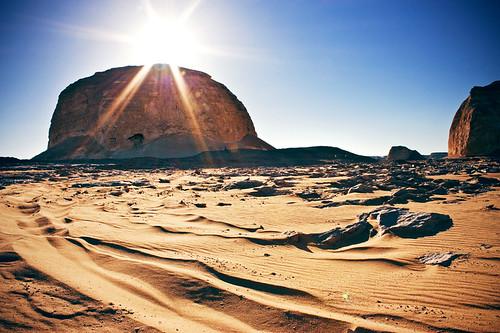 Golden Sand - white Desert
