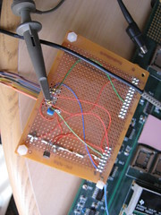 art(0.0), breadboard(1.0), personal computer hardware(1.0), electronic instrument(1.0),