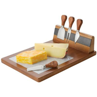 Bonjour Cheese Board With Magnetic Knife Set Flickr Photo Sharing