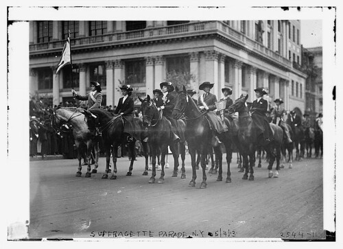 Suffragette Express, May 1912 (photo: Library of Congress, flickr)