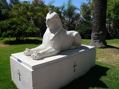 Sphinx Replica Rosicrucian Egyptian Museum and Planetarium San Jose