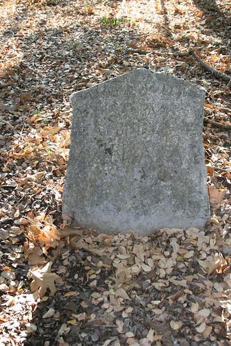 Eroded slave stone
