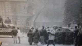 the revolution in Bucharest