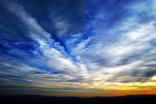 morning blue orange clouds sunrise israel explore haifa mtcarmel abigfave nikond40x goldstaraward