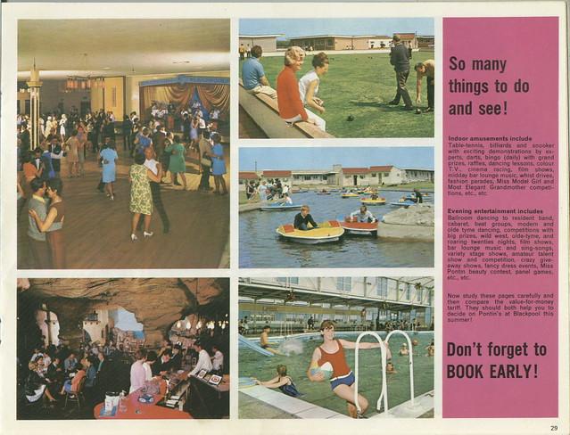 Pontins Brochure 1972 - Blackpool