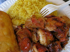 Lunch 11-28-08 / Bourbon Chicken