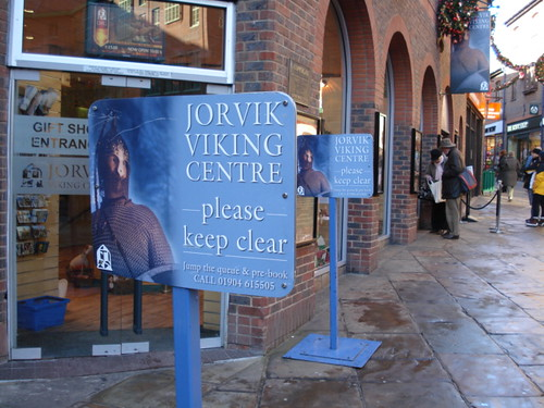 No queue at the Jorvik Viking Centre