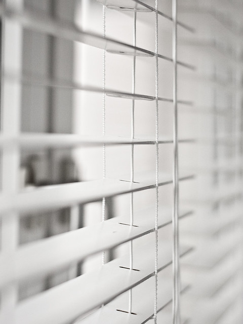 white ikea lindmon blinds flickr photo sharing. Black Bedroom Furniture Sets. Home Design Ideas