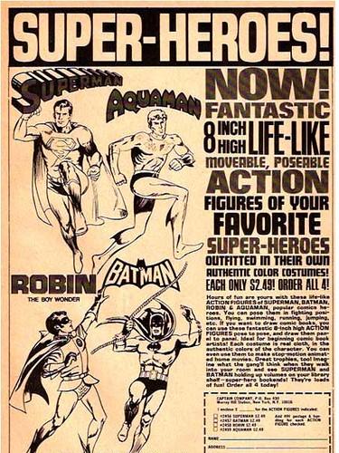 Classic Superheroes Ad