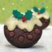 chocolate christmas pudding cookies 5678 R by nicisme