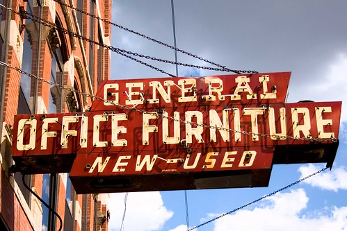 General Office Furniture sign #2-Chicago, IL by William 74