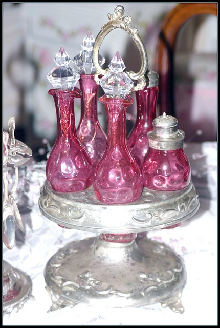 Antique Ruby Glass