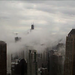 Chicago Skyline - fog