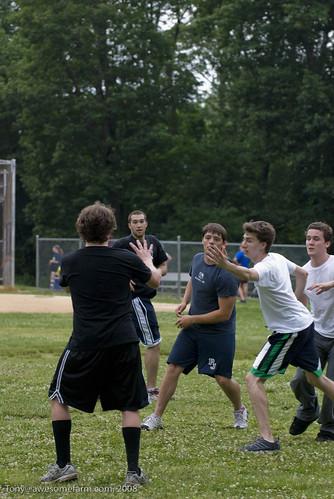 Hackensack Frisbee team