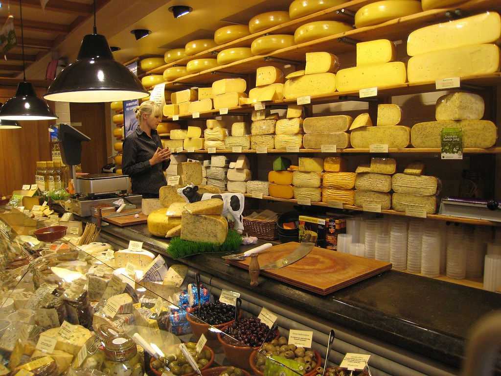 Dutch Cheese at the shop