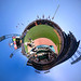 Planet Baseball at AT&T Park when the Giants got Swept by the A's for the Bay Bridge Series final on Father's Day by boltron-