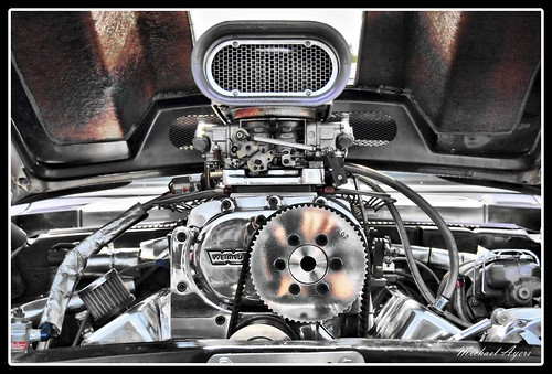 Muscle Car Motor / Engine HDR