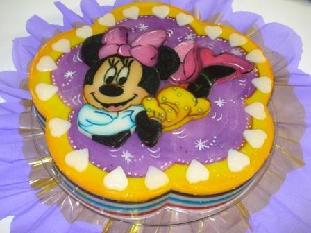 Modelos de gelatinas de Minnie Mouse - Imagui