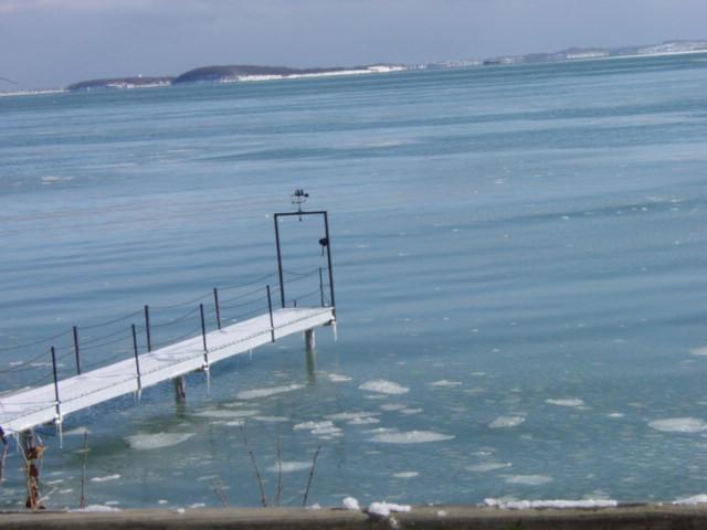 Quincy Bay in winter