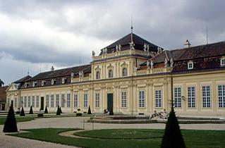 Image of Lower Belvedere near Gemeindebezirk Wieden. vienna wien austria 2000 palace belvedere schloss danube donau