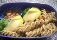 noodle(0.0), spaghetti(0.0), produce(0.0), carbonara(0.0), udon(0.0), fusilli(1.0), vegetarian food(1.0), pasta(1.0), food(1.0), dish(1.0), cuisine(1.0),