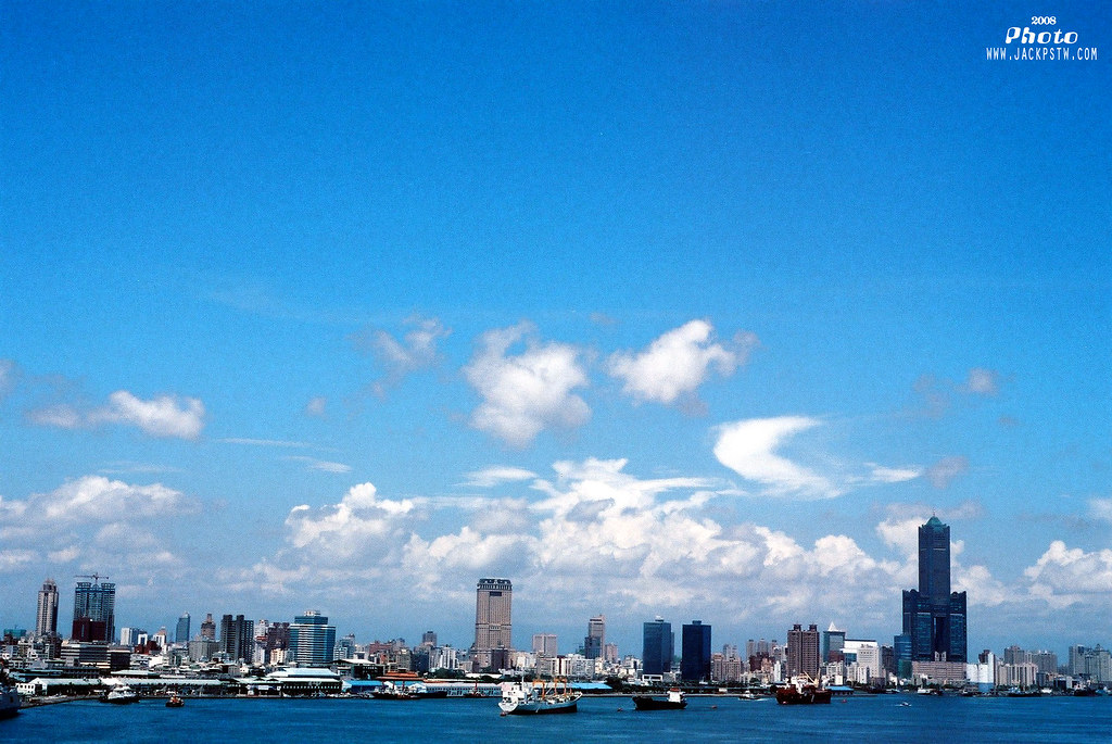 高雄港,大港藍天