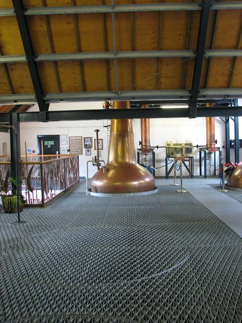 Arran Distillery - The still room