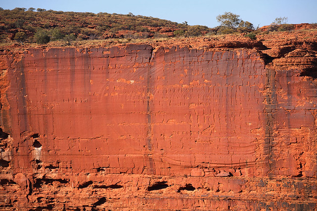Kings Canyon cliff